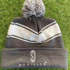 Sogility Winter Knit Hat Gray