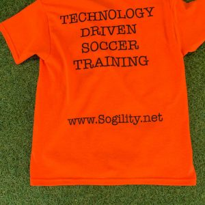Orange Technology Driven Soccer Training (TDST) t-shirt